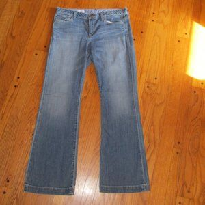 VINTAGE GAP 1969 LONG AND LEAN JEANS 14 R FLARE